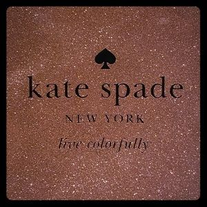 Kate Spade Rose Gold Holiday Gia Clutch